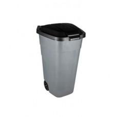 Контейнер пластиковый 110л серый для мусора