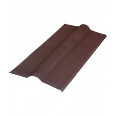 Конек (к ондулину) коричневый