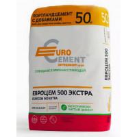 Цемент М-500 50кг Евроцемент