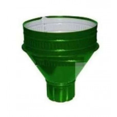 Воронка ф-100 зеленая Водосборная