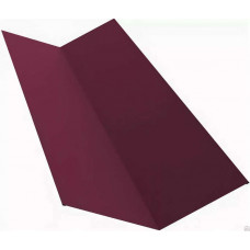 Планка ендовы 2,0х150х150 вишневый