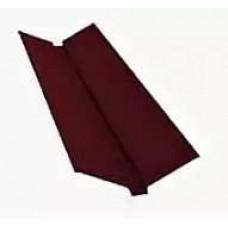 Планка ендовы 2,0х150х150 коричневый