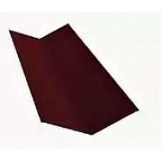 Планка ендовы внеш. 2,0х9х25х70 вишневая