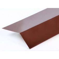Планка карнизная 2,0х45х65 коричневая