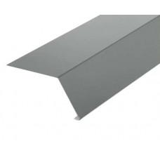 Планка карнизная 2,0х45х65 оцинкованная