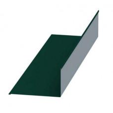 Планка примыкания 2,0х250х147 зеленая