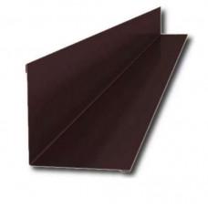 Планка примыкания 2,0х250х147 коричневая