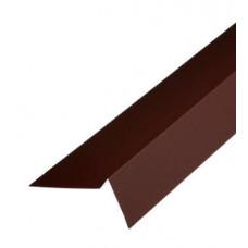 Планка торцевая 2,0х9х9 коричневая