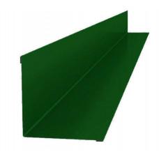 Планка угла внешнего 2000х115х115зелен