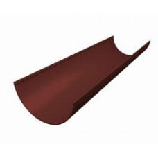 Желоб водост. пластиковая (шоколад)3м