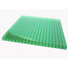 Поликарбонат 6х2100х6000мм зеленый