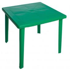 Стол пластиковый квадратный 80х80 зеленый