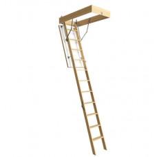 Лестница чердачная STANDART 60х120х300см