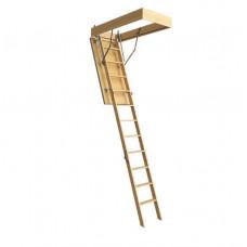 Лестница чердачная ПРЕМИУМ 70х120х300см