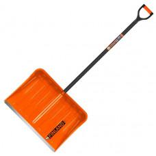 "Лопата снеговая ""Finland"" оранжевый 540х380мм №1731"