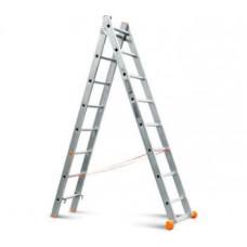 Лестница-стремянка 2х8 (2,24х3,64м)