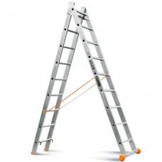 Лестница-стремянка 2х9 (2,5х4,2м)