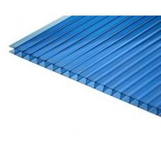 Поликарбонат 4х2100х6000мм синий