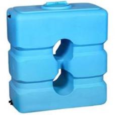 Бак д/воды W-1500 BW син-бел с поплавком