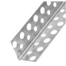 Профиль под гкл угловой перф. Пу 25 х 25 х 3 м оцинкованный