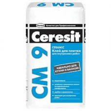 Клей для плитки ceresit cm9 (25кг)