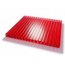 Поликарбонат 6х2100х6000мм красный