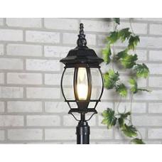 Светильник садовый EL-1043 100W черный