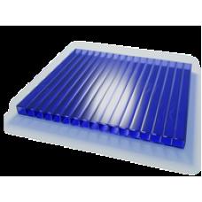 Поликарбонат 4х2100х12000мм синий