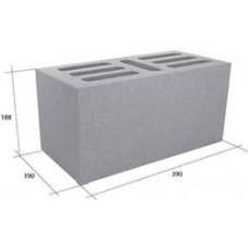 Блок 390х190х190мм песко-цементный М50