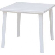 Стол пластиковый 80х80 бел Верона