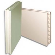 Гипсовая плита(667х500х80)влагостойкая полнотелая