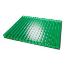 Поликарбонат 4х2100х6000мм зеленый