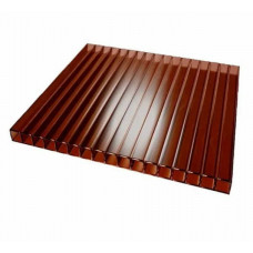 Поликарбонат 4х2100х6000мм коричневый