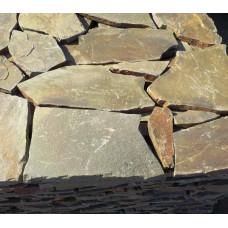 Природный камень плитняк серо-зеленый т.2см (35м2)