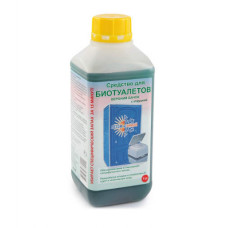 Жидкость для биотуалетов верх.бачок 1,0л
