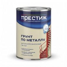 Грунт Престиж ГФ-021 серая матовая 1,9 л для металла и дерева