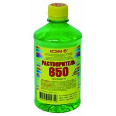 Растворитель 650 Ясхим 0,5 л ПЭТ для разбавления нитроэмалей, нитролаков и нитрошпатлевок