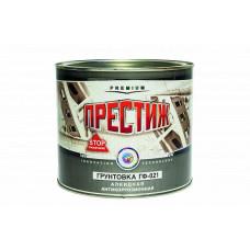 Грунт Престиж ГФ-021 красно-коричневая матовая 1,9 л для металла и дерева