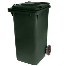 Контейнер пласт.240л черный для мусора