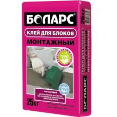 """Клей плиточный """"Боларс Монтажный"""" зимний (25кг)"""