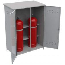 Шкаф для газовых балонов двойной