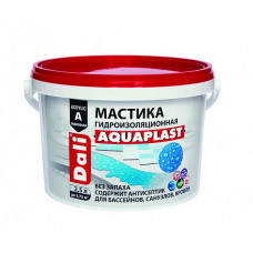 Мастика гидроизоляционная Dali Aquaplast универсальная акриловая 2,5 л