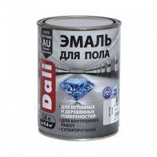 Эмаль Dali красно-коричневая полуглянцевая 0,8 л для лестниц и пола
