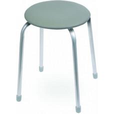 Табурет Классика 2 круглое сиденье d=32 см темно-серый