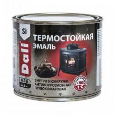 Эмаль Dali серебро матовая 0,4 л для печей, каминов, мангалов, дымоходов и труб