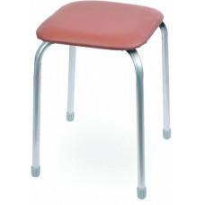 Табурет Классика 3 квадратное сиденье 32 см коричневый