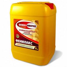 Огнебиозащитный состав Woodmaster Фенилакс золотисто-коричневый 6 кг для перекрытий