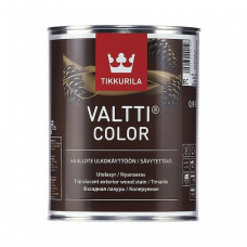 Антисептик Tikkurila Valtti Color EC 0,9 л для фасада, забора, дверей, мебели
