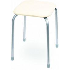Табурет Классика 3 квадратное сиденье 32 см слоновая кость