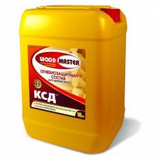 Огнебиозащитный состав Woodmaster Ксд бесцветный 5 кг для перекрытий
